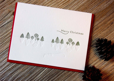 White Christmas Card Christmas Cards ditto ditto
