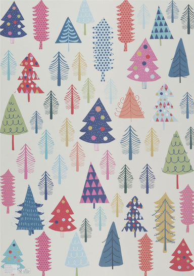 White Christmas Wrapping Paper Wrapping Papers MULTIFOLIA ATELIER di Rita Girola