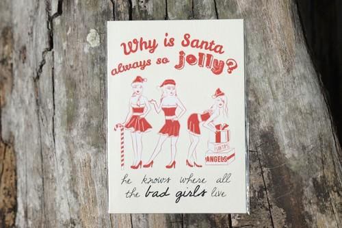 Why Is Santa Always So Jolly Card Christmas Cards The Kardiacs
