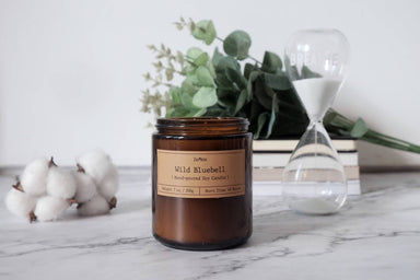 Wild Bluebell Soy Candle Scented Candles Zenkle