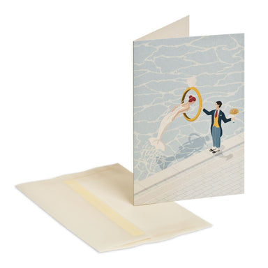 Will you marry me Greeting Card - Love Cards - MULTIFOLIA ATELIER di Rita Girola - Naiise