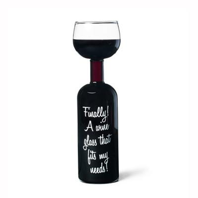 Wine Bottle Glass Cups BigMouth Inc