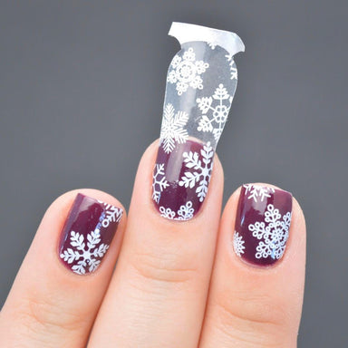 Winter Wonderland Nail Wrap (Transparent) - Nail Wraps - Personail - Naiise