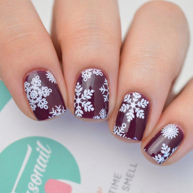 Winter Wonderland Nail Wrap (Transparent) Nail Wraps Personail