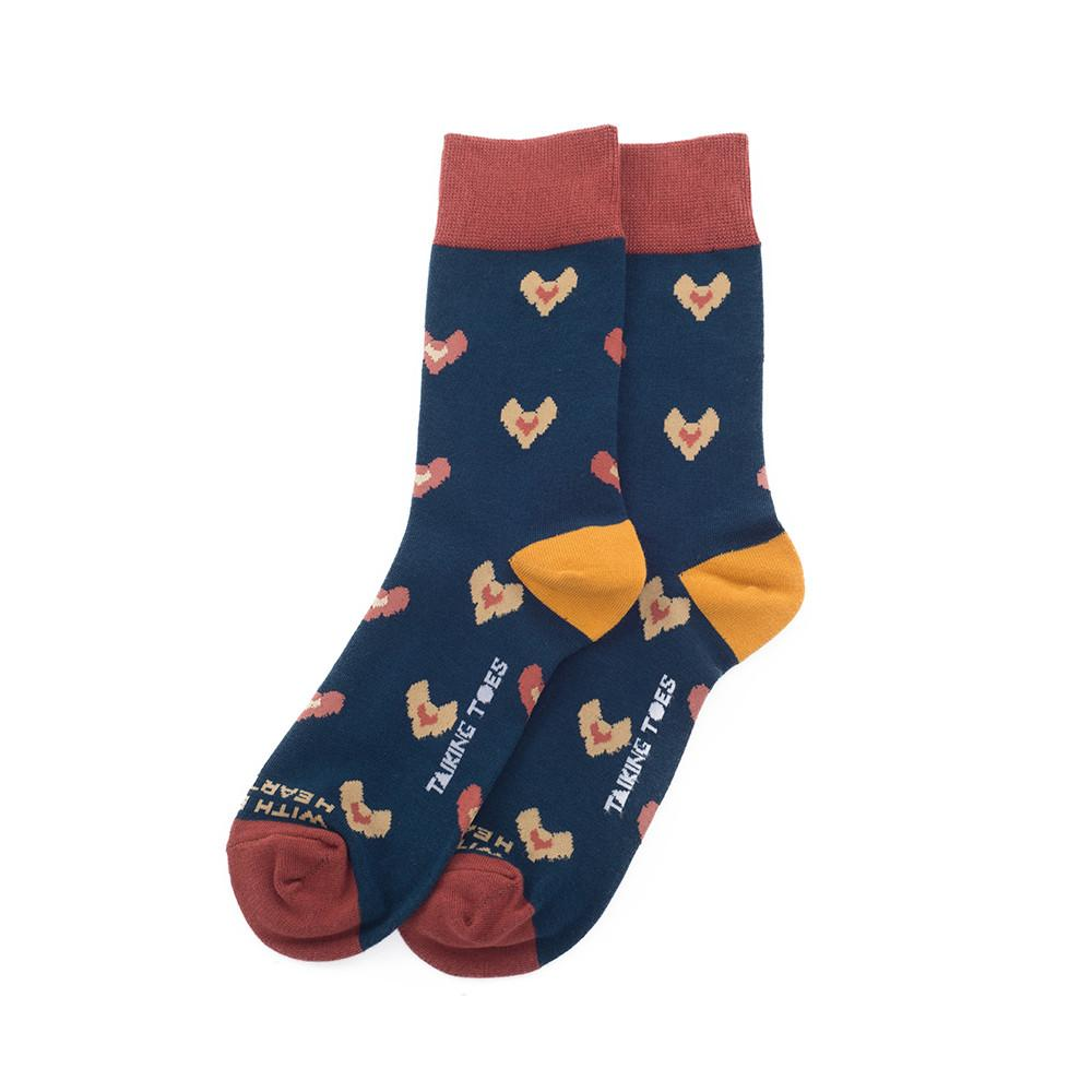 With Every Heartbeat Socks Socks Talking Toes