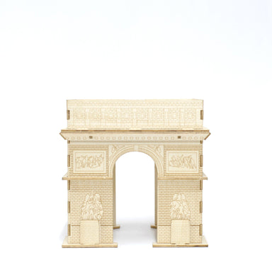 Wood Puzzle - Arc de Triomphe Model Kits Team Green