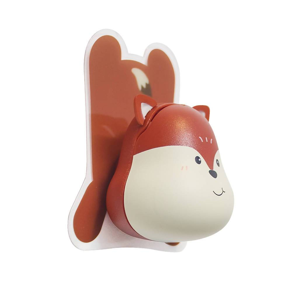 Balvi - Toothbrush Holder Fox Adhesive - Toothbrush Holder - The Planet Collection - Naiise