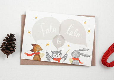 WW-XGC#8 - Fala Lala La Greeting Card - Naiise