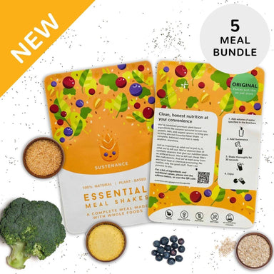 Sustenance Essential Meal Shake (Original Oat Flavor) (5 Meal Starter Kit) - Food Kits - Zesty Leaf - Naiise