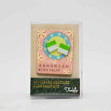 Singapore Heritage Kueh Magnet - Kueh Salat - Local Magnets - Tinkle Arts - Naiise