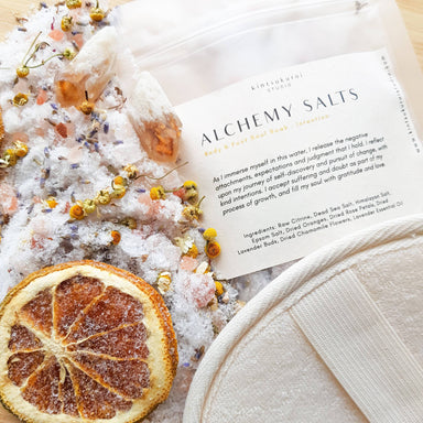 Alchemy Soul Salts - Intention Bath Salts Kintsukuroi Studio