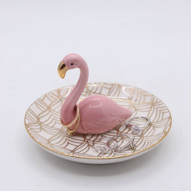 Flamingo Ring Holder - Jewellery Holders - The Planet Collection - Naiise