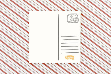 (X'mas) Seasonal Greetings Postcard - Christmas Cards - TispyTopsy - Naiise