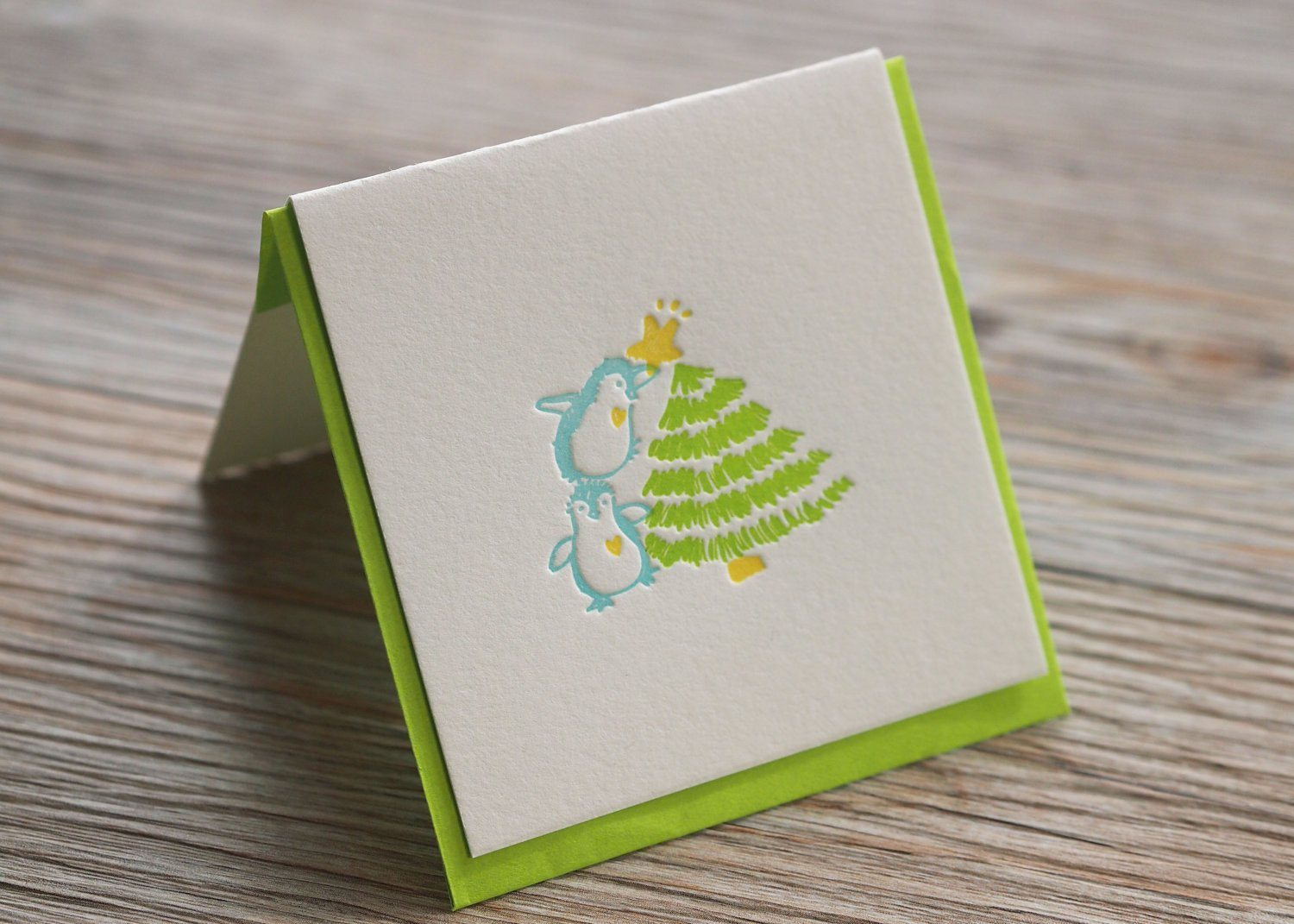 Xmas Star Christmas Card - Naiise