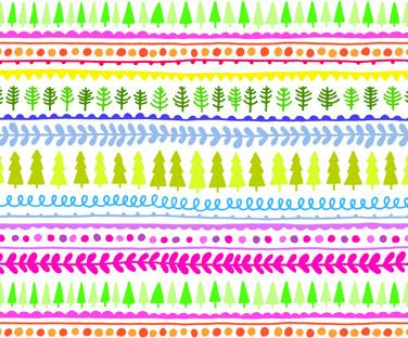Xmas Trees Hugger Wrapping Paper - Wrapping Papers - Fevrier Designs - Naiise