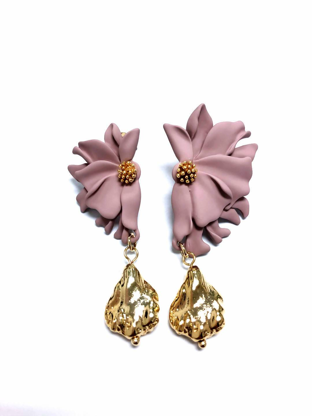 Flora Earrings - 5 Different Colors - Earrings - Forest Jewelry - Naiise