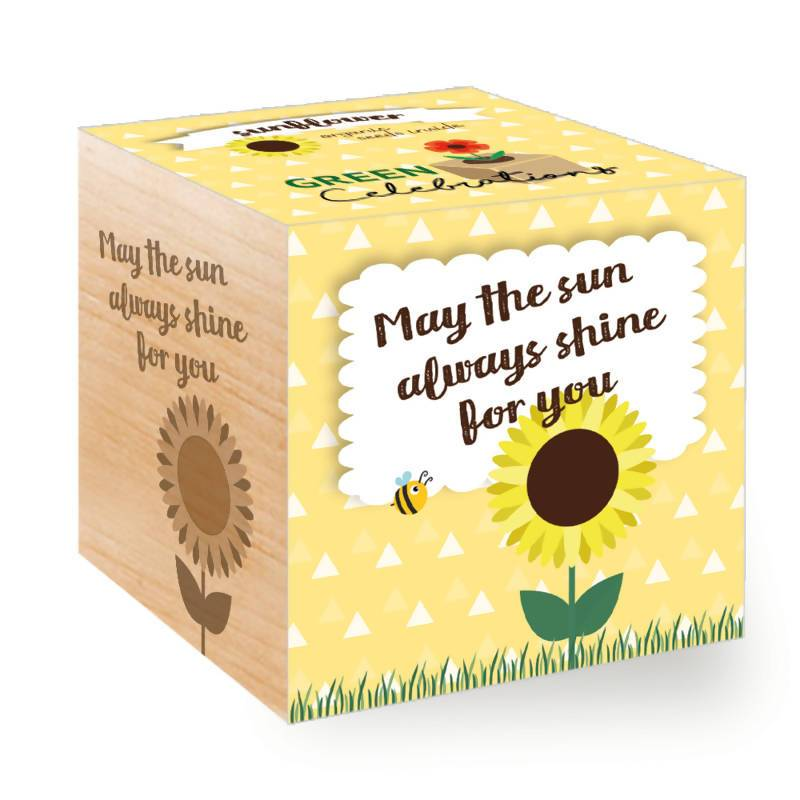 Feel Green Sunflower - May The Sun Always Shine For You - Plants - The Planet Collection - Naiise