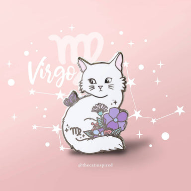 Virgo Pin - Brooches - The Cat Inspired - Naiise
