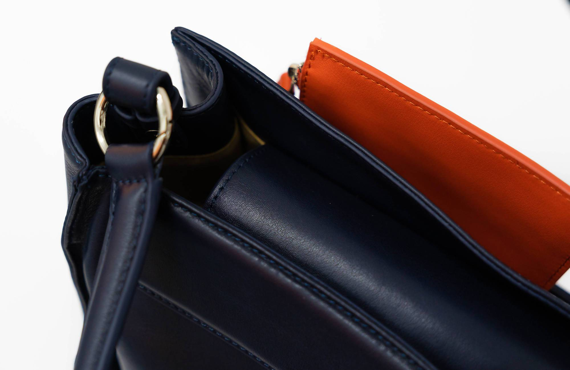 Celo Shoulder Bag (Midnight blue) - Women Bags - Reole Leather Bags & Wallets - Naiise