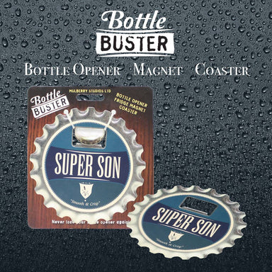 BOTTLE BUSTER - Best Bottle Opener : Super Son - Bottle Openers - La Belle Collection - Naiise