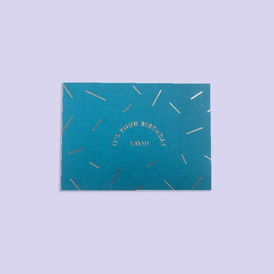 Yay It's Your Birthday Card - Birthday Cards - The Little Talks - Naiise