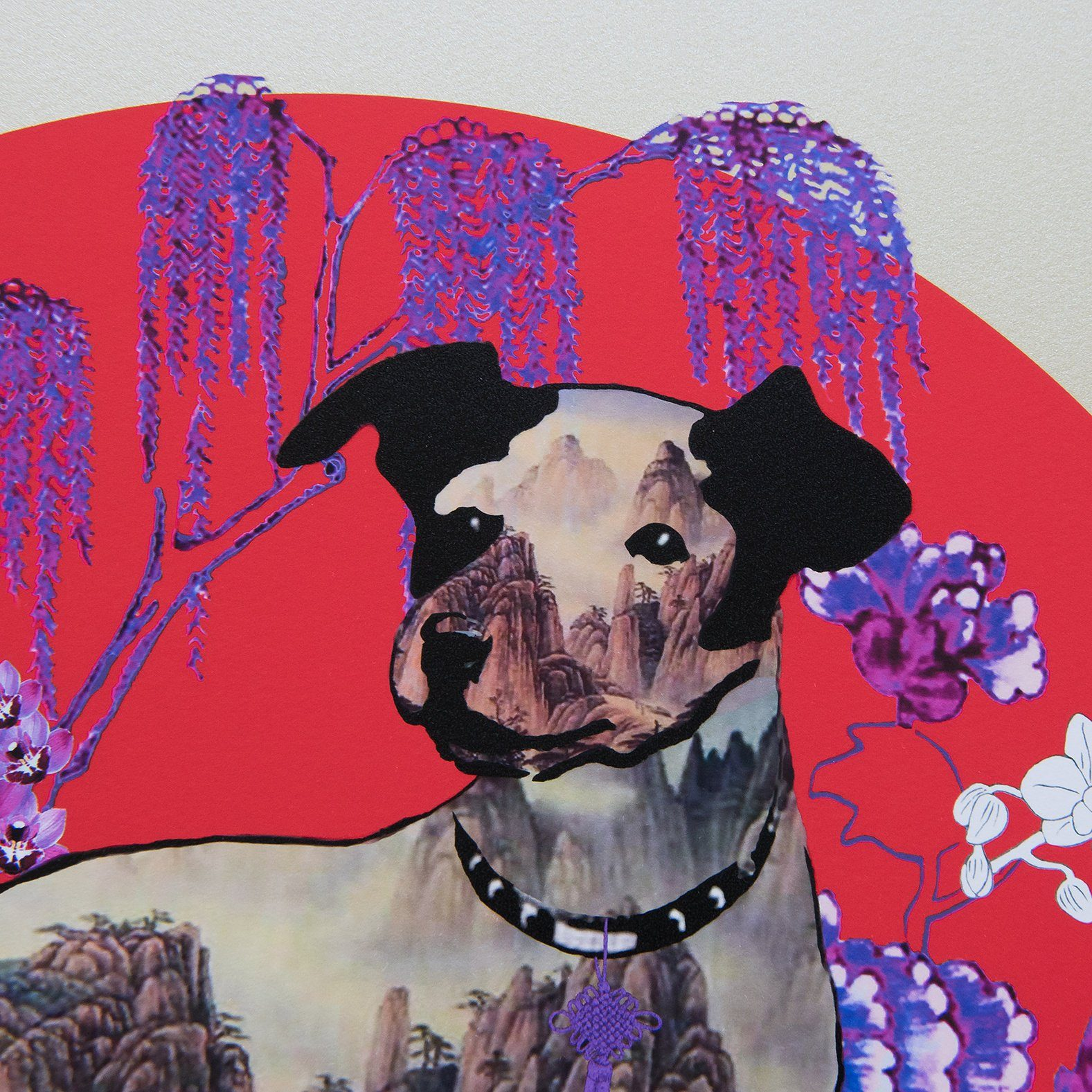 Year of the Dog Print - Special Edition (Pre-Order) - Local Prints - Hollis Carney Art - Naiise