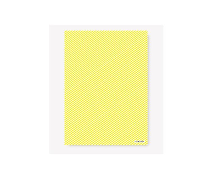 Yellow Stripes Wrapping Paper Wrapping Papers Fevrier Designs