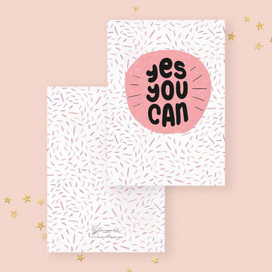 Yes You Can! Encouragement Cards YOUNIVERSE DESIGN