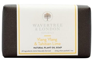 Ylang Ylang & Tahitian Lime Bar Soap Soaps Wavertree & London