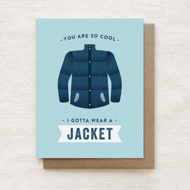 You are so Cool - Thank You Greeting Card Thank You Cards Quirky Paper Co.