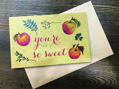 You 're So Sweet Greeting Card Love Cards Papermix