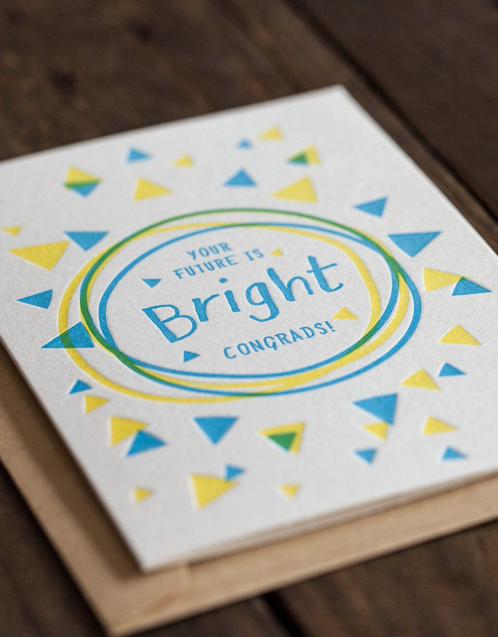 Your Future Is Bright Card - Naiise