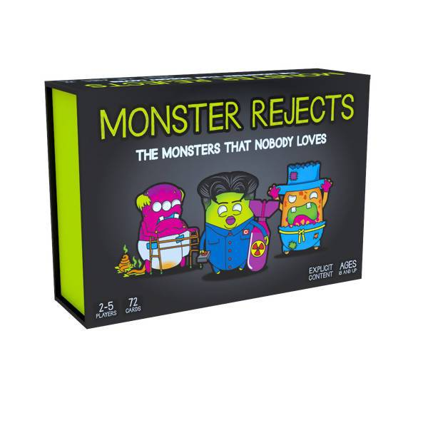 Monster Rejects Card Game - Card Games - Allink Int Pte Ltd - Naiise