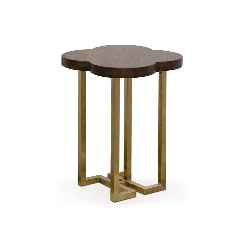YUAN Loft Side Table (With Brass Legs) Tables SCENE SHANG