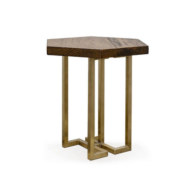 YUAN Loft Side Table (With Brass Legs) (Pre-Order) - Tables - SCENE SHANG - Naiise