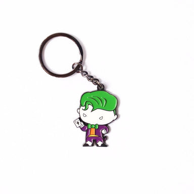 The Joker Enamel Keychain - Keychains - Ok Can Lah - Naiise