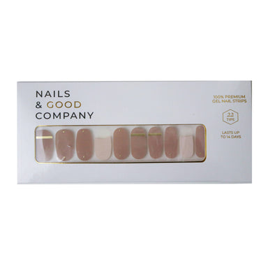 Nude Neutrals Nail Strips - Nail Wraps - Nails & Good Company - Naiise