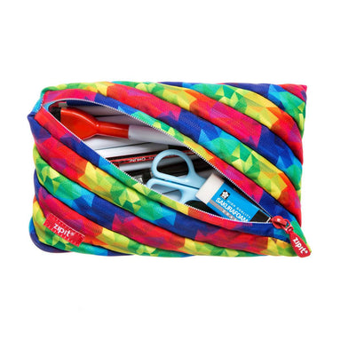 Zipit Fresh Jumbo Pouch Kaleidoscope - Pencil Cases - Zigzagme - Naiise