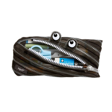 Zipit Mesh Monster Pouch Black - Pencil Cases - Zigzagme - Naiise