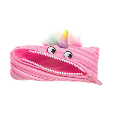 Zipit Monster Pouch Unicorn Pink - Pencil Cases - Zigzagme - Naiise