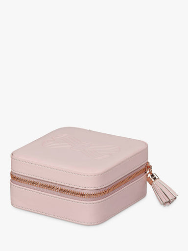 Zipped Jewellery Case Pink Jewellery Holders TED BAKER