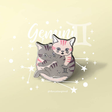 Gemini Pin - Brooches - The Cat Inspired - Naiise