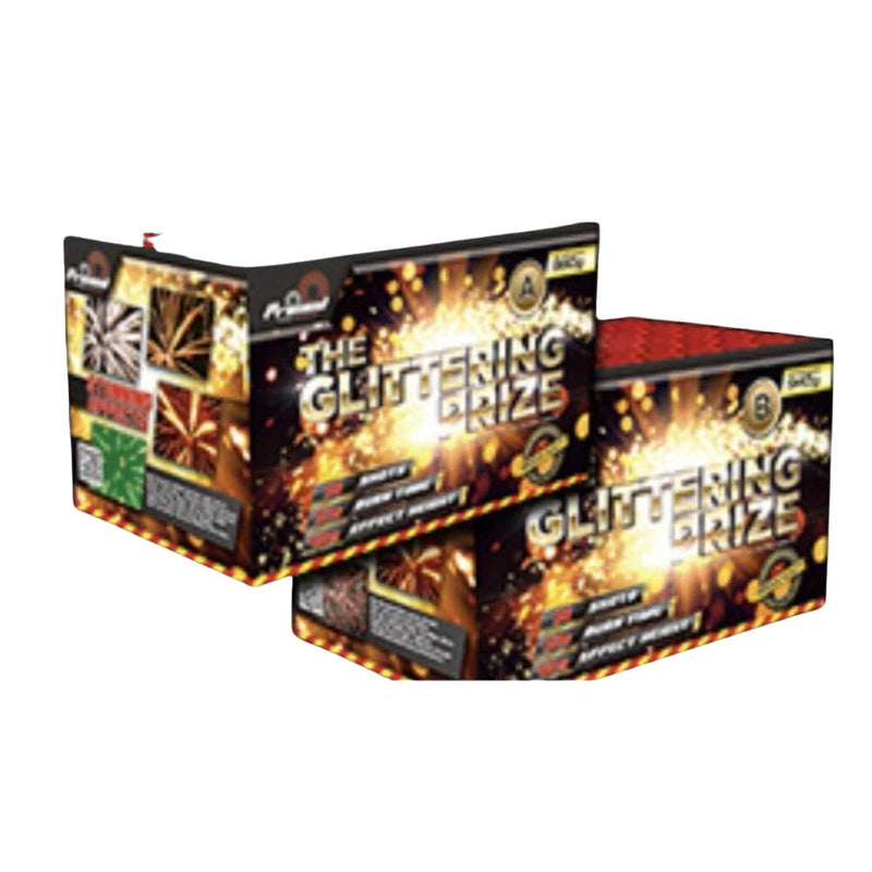 Glittering Prize A & B Pack by Primed Pyrotechnics