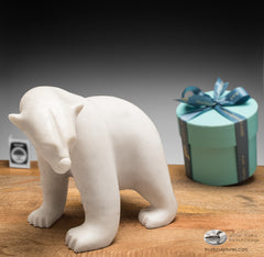corporate gift inuit carving eskimo art