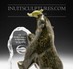 corporate gift inuit carving