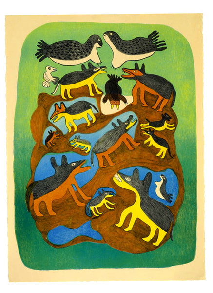 2003 ARCTIC MENAGERIE by Meelia Kelly