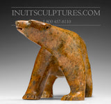 "13"" Masterpiece Walking Bear by Bill Nasogaluak"