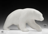 "20"" Masterpiece Walking Bear by Bill Nasogaluak"