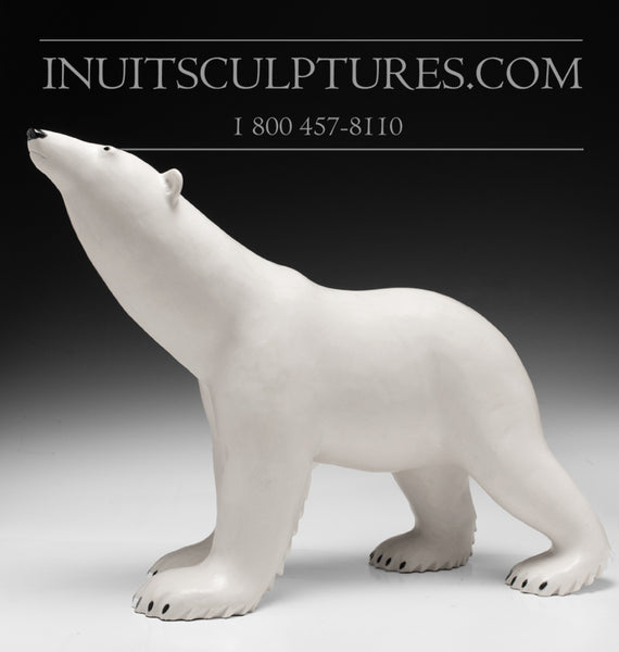 "18"" Masterpiece Walking Bear by Bobby Anavilok"