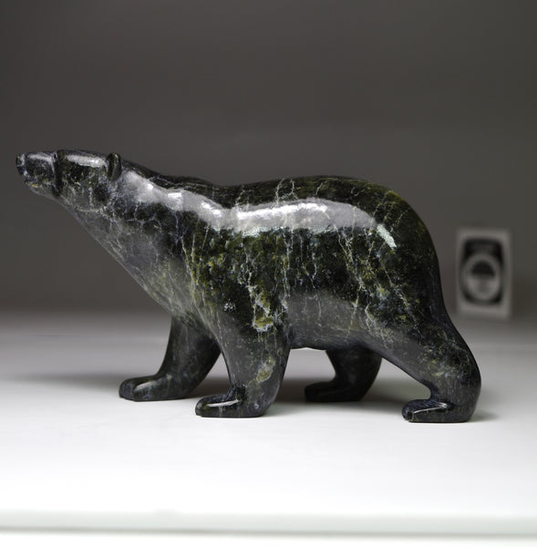 "6.5"" Dark Walking Bear by Tim Pee"